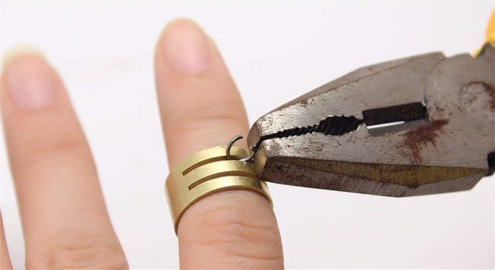 Febbya Anneaux de Saut,1320 pi/èces Ronds Anneaux de Jonction pour R/éparer Faire Collier Bracelet Bijoux Fer Argent 50mm