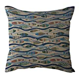 Aoesila 1 PC Polyester Simple Home Decorative Throw Pillow Case Waist Cushion Cove18 x 18 Inch,43cm44cm