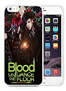 Blood on The Dance Floor White iPhone 6 Plus 5.5 inch TPU Cellphone Case Luxurious and Newest Design