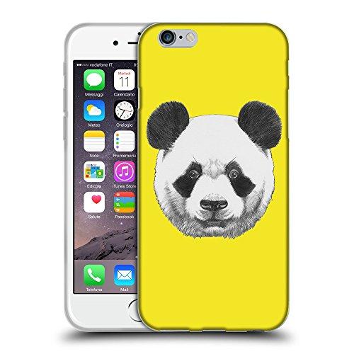 """GoGoMobile Coque de Protection TPU Silicone Case pour // Q05300625 Panda Jaune canari // Apple iPhone 6 PLUS 5.5"""""""