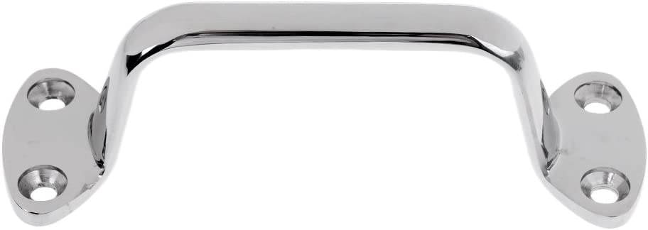 Heavy Duty 316 Stainless Steel 6 Boat Polished Marine Grab Handle Handrail Boat Yacht Accessoies