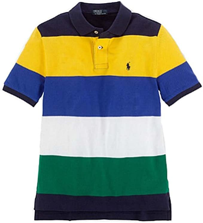Ralph Lauren niños multicolor Polo camisetas, XL (18/20): Amazon ...