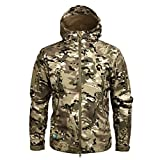 Men Military Jacket Autumn Winter Outerwear Camouflage Jacket and Coat CP XS