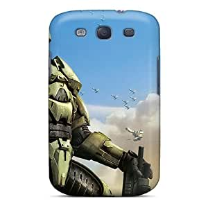 StvuwnN2743rZjQb Snap On Case Cover Skin For Galaxy S3(halo Wars New Game)