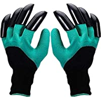 EiEi Garden Genie Gloves, Garden Gloves with Claw for Digging Planting, Waterproof and Breathable, Best Gardening Gifts…