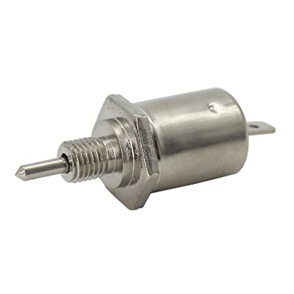 KIPA Carburetor Fuel Shut Off Solenoid For John Deere M138477 LT180 LX277 X475 X520 X540 X700 X710 Z840 GX325 GX345 With Carb 15003 2801 Toro 74401