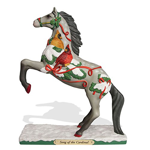 ENESCO Trail of Painted Ponies Song of The Cardinal Figur...