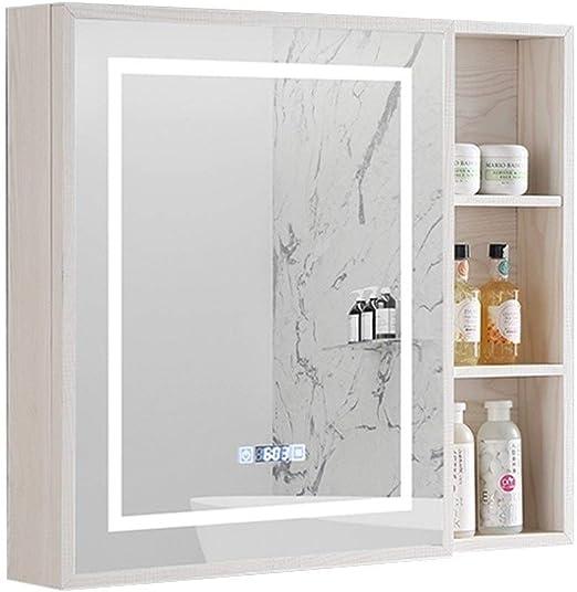 Armarios con espejo Espejo De Baño Gabinete De Aluminio del ...