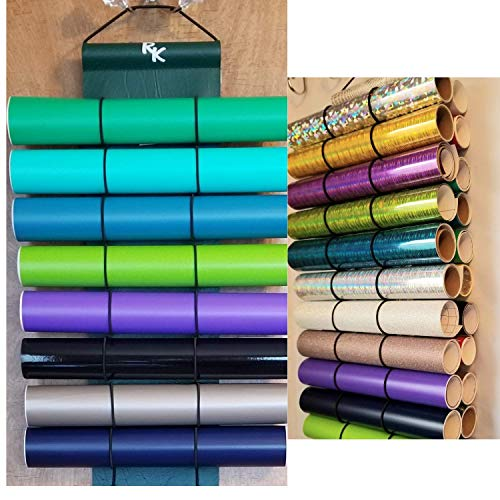 Vinyl Roll Holder, Diamond Painting,22 Roll Capacity, Hunter Green by The Roll Keeper from The Roll Keeper