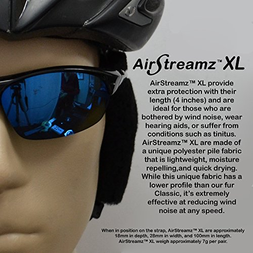Cat-Ears AirStreamz XL Cycling Wind Noise Reducer by Cat-Ears (Image #1)