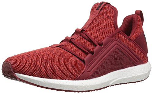 PUMA Men's Mega Nrgy Knit Sneaker Red Dahlia-flame Scarlet-puma Black outlet low price fee shipping outlet nicekicks b1alp1cfN