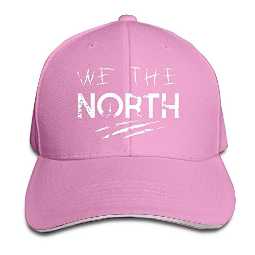 fan products of Raptors Basketball WE THE NORTH Man Woman Sandwich Cap Pink (8 Colors)