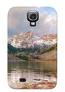 Premium Landscapes Nature Colorado Lakes Aspen Heavy-duty Protection Case For Galaxy S4