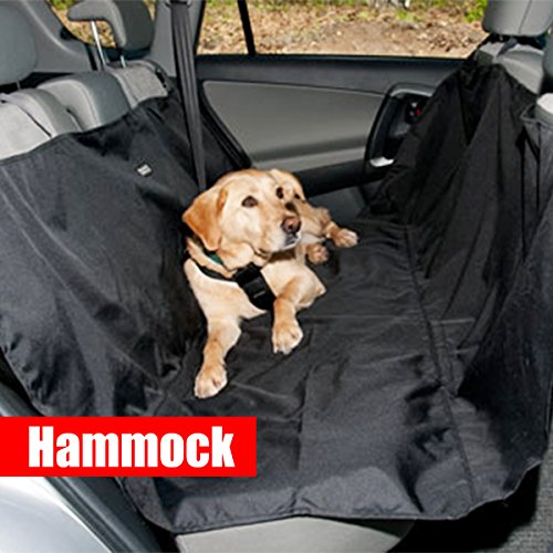 Zone Tech Classic Black Heavy Duty Auto Pet Hammock Premium Quality Dog Vehicle Seat Protector by Zone Tech (Image #2)