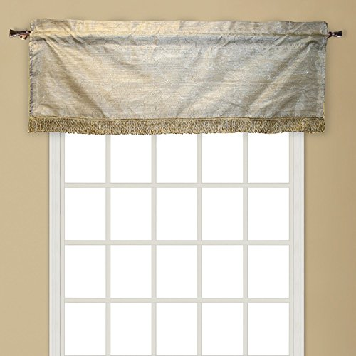(Violet Linen Eden Taffeta Nittle Window Valance, 60