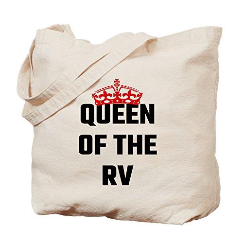CafePress diseño de Queen of the RV–Gamuza de bolsa de lona bolsa, bolsa de la compra