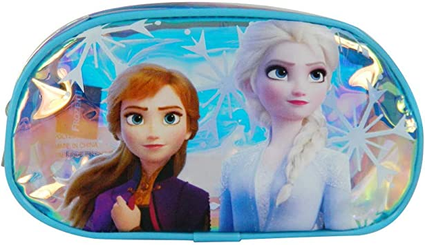 Bagtrotter - Estuche ovalado holográfico Disney Frozen 2: Amazon.es: Equipaje