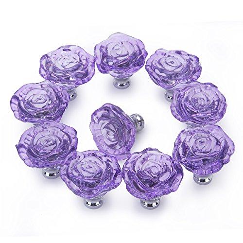 purple cabinet knobs - 5