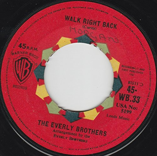 Everly Brothers - Walk Right Back The Everly Bro - Lyrics2You