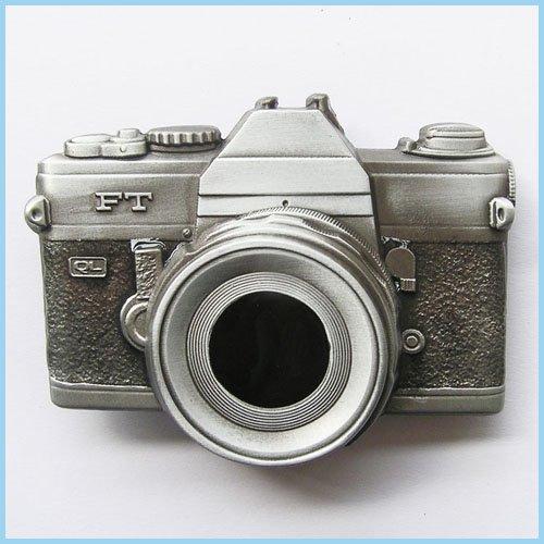 NEW CAMERA PHOTO PICTURE CLASSIC BELT BUCKLE (Camera Belt Buckle)