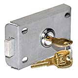 Salsbury Industries 3477 Replacement Master Commercial Lock for 4C Pedestal Mailbox, Collection Box and Parcel Locker with 2 Keys