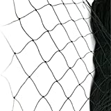 "Netting for Bird Poultry Aviary Game Pens New 2.4"" Square Mesh Size (25' X 50' Net)"