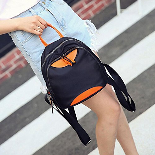 backpack amp;YF Black handbag student bag Sports bag backpack black Travel Z casual bag Female n8qFSwUx4U
