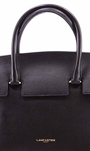 Sacs Femmes LANCASTER Paris Noir Cuir Vachette Black Cow Leather Nouveau New