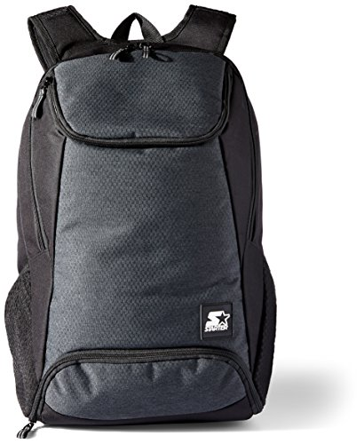 Starter Backpack with Laptop Sleeve and Shoe Pocket, Amazon Exclusive, Black, One Size from STARTER