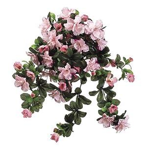 Artificial Pink 24-inch Azalea Trailing Bush (Set of 6) 116