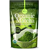 Organic Matcha Green Tea Powder Antioxidants USDA Organic Energy Booster Incredible Taste(4oz)
