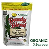 Instant Herbal Beverage with Dandelion - Organic 3.53 Ounce (100 Grams) Pkg