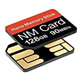 NM Card 128G 90MB/S Nano Memory Card Nano SD Card Compact Flash Card, only Suitable for Huawei P30P30pro and Mate20 Series Nano128GB