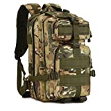 LightInTheBox Clearance Sale 40L Outdoor sports bag 3p tactical bag camping hiking multifunction men's backpack rucksack canvas bagHiking Backpack