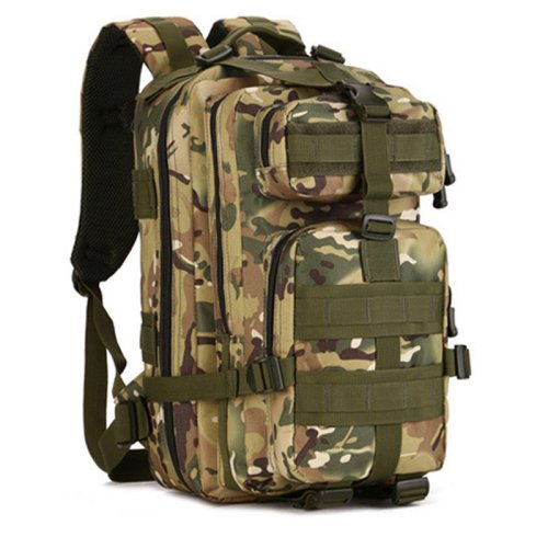 LightInTheBox Clearance Sale 40L Outdoor sports bag 3p tactical bag camping hiking multifunction men's backpack rucksack canvas bagHiking Backpack