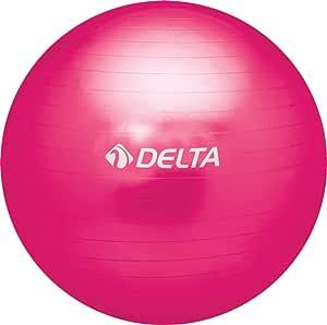 Delta Unisex Pilates Egzersiz Topu 75 Cm Ds 9327, Fuşya, Tek Beden