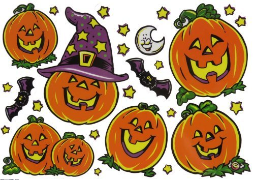 Halloween Window Clings - 2 Pack ()