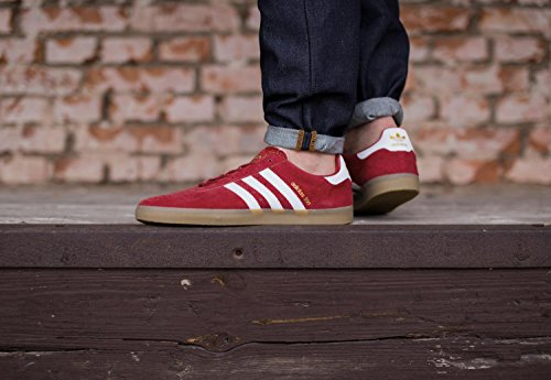350 Trainers Red White Suede Mens Adidas S5twqHS