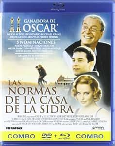 Las normas de la casa de la sidra (Blu-Ray + DVD) [Blu-ray]