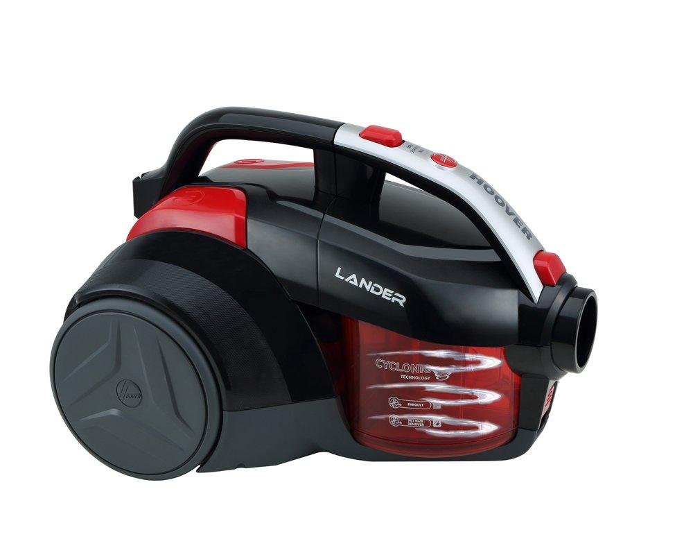 color blanco tecnolog/ía cicl/ónica Aspirador trineo sin bolsa con filtro EPA 700 W Hoover Lander LA10