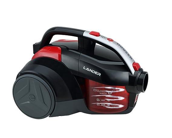 Hoover Lander LA30 - Aspirador trineo sin bolsa con filtro EPA, con accesorios especiales para parquet y mascotas, tecnología ciclónica, 700 W, ...
