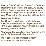 Healthy Breeds Healthy Dog Treats for Utonagan - Over 200 Breeds - Tasty Training Chicken Flavored Snack - Small Medium or Large Pets - 7 oz 6