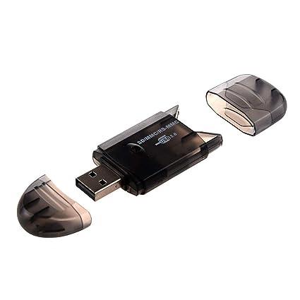 Mini SD MMC T-Flash USB Key 2.0 Lector de Tarjetas (Tarjeta ...