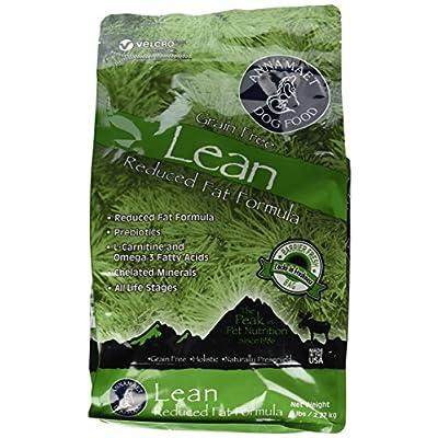 Annamaet Grain Free Lean Reduced Fat Formula Dog Food (5lb)