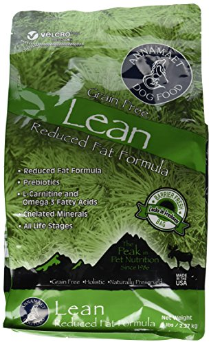 Annamaet Grain Free Lean Reduced Fat Formula Dog Food (5lb) Review
