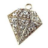 """Creative DIY Crystal """"Diamond"""" Charms Pendants Wholesale (Set of 3) MH294"""