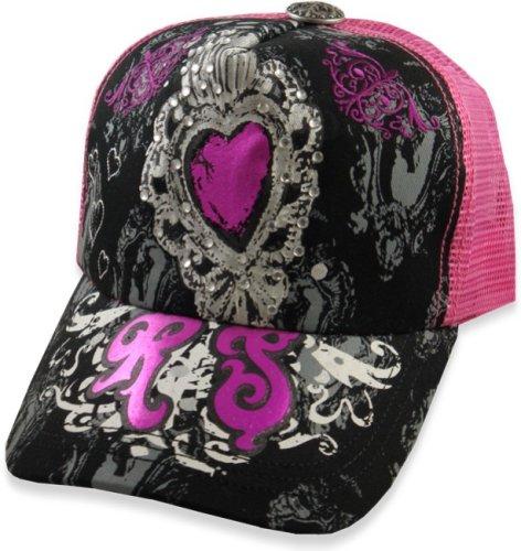 "Rebel Spirit ""Sweetheart Couture"" Girly Trucker Hat #3"