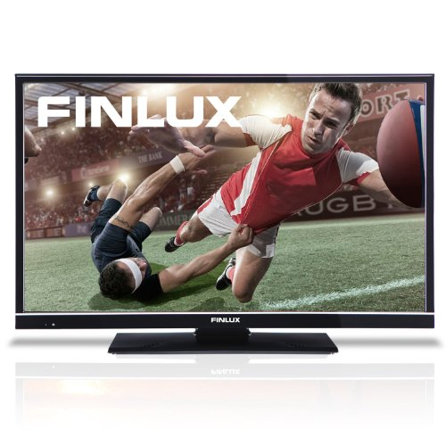 Finlux 32H6072-D 32 Inch LED Widescreen HD Ready TV with Freeview & USB PVR Recording Black (New for 2013)