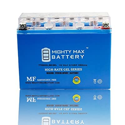 Mighty Max Battery YTX24HL-BS GEL Battery for Harley FLT Tour Glide 1980-1984 brand product