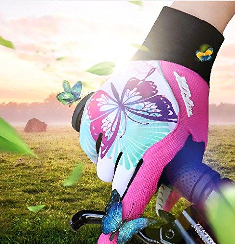gel acolchados ciclismo de Red Unisex Aiqi Mitones con x8qaHXCCw